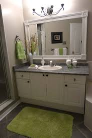 framing bathroom mirror ideas. image detail for -diy bathroom mirror frame project | passport to design framing ideas t