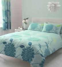 double duvet set curtains bedding set bed set quilt cover teal lime