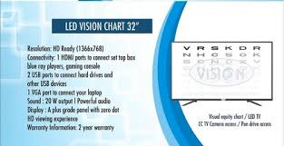 Dot Eye Chart Led Vision Chart 32