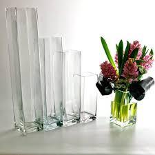 cylinder vases square glass vases