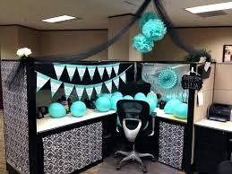 Office party decoration ideas Happy Birthday Decoration Cubicle Decoration Cozy Office Cube Ideas Birthday Themes In For Decorating My Christmas Candiceloperinfo Decoration Cubicle Decorating Ideas Party Decoration Also With