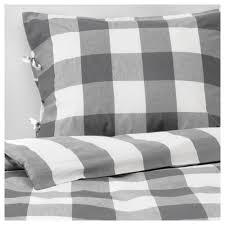 emmie ruta duvet cover and pillowcase s dark gray white thread count