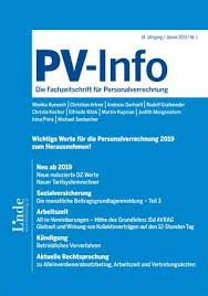 Pv Info Heft 1 2019 By Linde Verlag Gmbh Issuu
