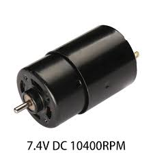 electric motor. Simple Motor 74V DC 10400RPM Highpower Torque Magnetic Mini Electric Motor Electrical  Black On C