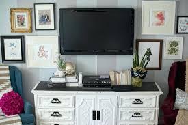 wall mounted flat screen tv decorating ideas decor 9