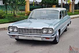 rare and beautiful 64 Chevrolet Bel Air Wagon selling at no ...