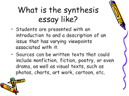 cause and effect essay topics for high school essays on health  the synthesis essay from steps to a ppt video online what is the synthesis essay