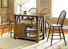 round table with chairs that fit under brown dining table kitchen table with storage underneath storage round table with chairs that fit under
