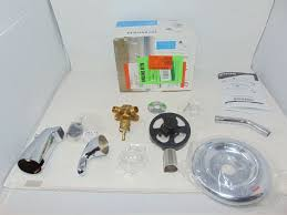 moen adler single handle 1 spray tub and shower faucet with valve in chrome valve included l82694