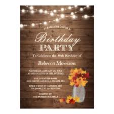 Fall Party Invitations Zazzle
