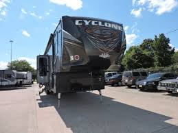 heartland cyclone toy haulers in north and south houston texas