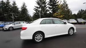 2009 Toyota Corolla S | White | 9Z101504 | Seattle | Renton - YouTube