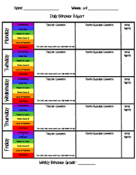 Behavior Chart To Add To Data Notebook Next Year Teaching