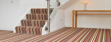 Designer Striped Carpet Carpets Aberystwyths Largest Flooring Selection