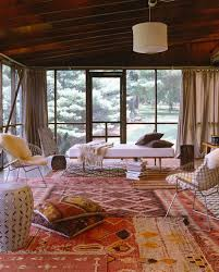 Persian Rug Living Room How To Mix Multiple Rugs In The Same Room Emily Henderson