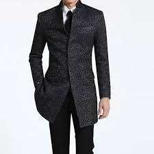 spring winter men s business long coats casual wool trench coat overcoat male fashion casual jacket big
