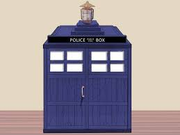 Tardis Design Plans How To Build A Tardis Replica With Pictures Wikihow