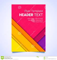 flyer template in a material design style modern poster business flyer template in a material design style modern poster business template brochure colorful template