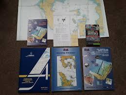 Rya Charts Rya Day Skipper Admiralty Almanacs And Practise Charts In Bude Cornwall Gumtree