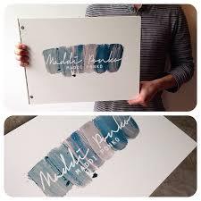 Interior Design Portfolio Ideas custom interior design portfolio book with printed decal treatment on white acrylic by http