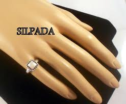 Vintage Silpada Sterling Silver Mop Ring Us Ring Size 4 Glowing Mother Of Pearl Silpada Quality Free Shipping