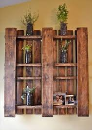 Recycled Hand Made Pallet Shelves  Crafthubs More