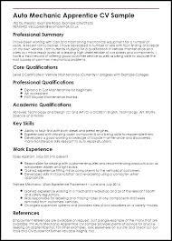 Heavy Duty Mechanic Apprentice Resume Sample 496890 Mechanic Resume