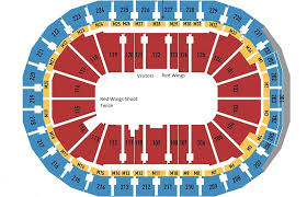 Breakdown Of The Little Caesars Arena Seating Chart