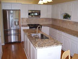 small kitchen island with sink. A Sink Was Placed On An Island To Create Efficient Work Area In This Small. Kitchens Small Kitchen With N
