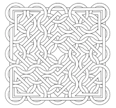 Small Picture Free coloring page coloring op art jean larcher 15 An Op Art