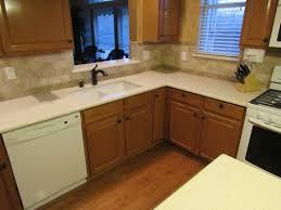 Travertine Tile For Kitchen Travertine Tile For Backsplash In Kitchen Beige Seamless Granite