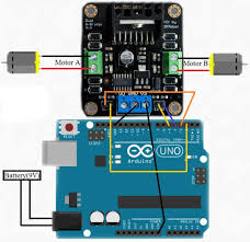simple ps3 arduino project 6 steps step 3 wiring scheme
