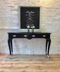 sofa hall table. Sofa Hall Table Fantastic Glitzy Chalk Painted Unusually Console