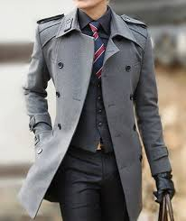 men coats british style mens double ted long winter wool coat jacket windbreaker business suit