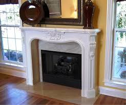 image of faux fireplace surround