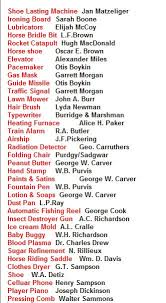 best african american history month ideas black african american history inventors list you will be suprise at what black inventors created that we use today
