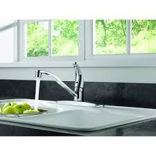 Brushed Nickel Faucet Kitchen Kitchen Faucets Walmartcom Walmartcom