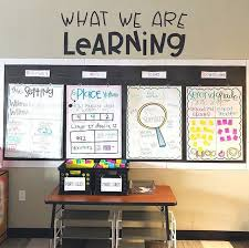 Hang The Charts On The Wall This Years Anchor Chart Wall So Hard To Get It All In A