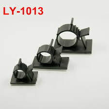 online get cheap wiring harness clips aliexpress com alibaba group 15pcs ly 1013 10mm dia white black circle self adhesive sticky fixed mount base adjustable
