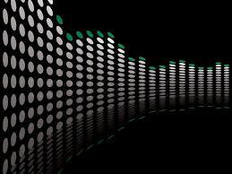 black background design music. Fine Black Graphical Equaliser Illustration Ideal As A Background Or Desktop  Stock  Vector Colourbox Inside Black Background Design Music