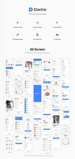 Designer Tools Apkpure Doctro Is A Clean And Modern Design Sketch Template For