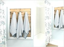 towel holder ideas for small bathroom. Bathroom Towel Hanging Ideas Rack Cool Holder For Your 6 Rustic . Small C