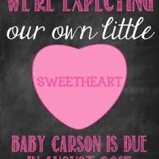 valentines day pregnancy announcement cards pregnancy announcement photo card pregnancy announcement reveal card