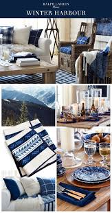 ralph lauren home office accents. The Ralph Lauren Home Winter Harbour Collection Mixes Rustic Furniture, Luxe Shearling And Artisinal Accents To Create A Coastal Sanctuary In Classic Indigo Office