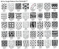 Zentangle Patterns Extraordinary Zentangle Designs Step By Step More Tangles With How To Steps
