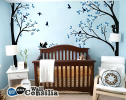white tree wall art tree wall decal nursery decoration sticker white for vinyl large tree decal white tree wall art