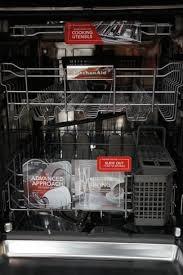 kitchenaid kdtm354dss. the kdte334d dishwasher features a three-rack storage system. kitchenaid kdtm354dss 5