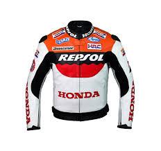 honda repsol team racing leather jacket
