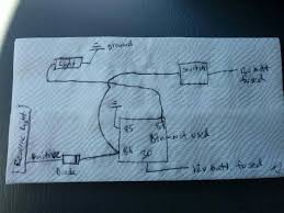 wiring extra reverse lights to switch and preexisting lights this is the simple way