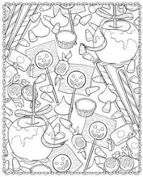 Small Picture Best Halloween Coloring Books for Adults Halloween coloring